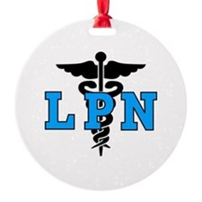 LPN Medical Symbol Ornament