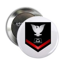 """Navy PO3 Culinary Specialist 2.25"""" Button"""