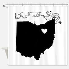 Akron Ohio Shower Curtain