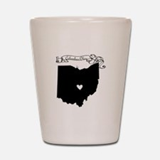 Columbus Ohio Shot Glass