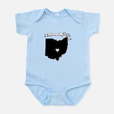 Columbus Ohio Infant Bodysuit