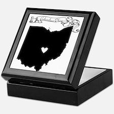 Columbus Ohio Keepsake Box