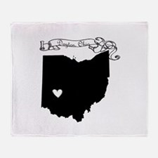 Dayton Ohio Throw Blanket