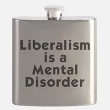 Liberalism is a Mental Disorder Flask