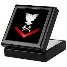 Navy PO3 Damage Control Keepsake Box