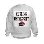 Curling University Kids Sweatshirt