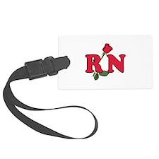 RN Nurses Rose Luggage Tag