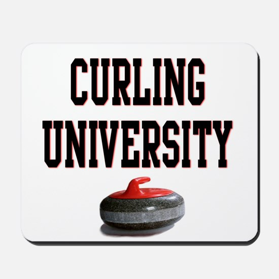 Curling University Mousepad