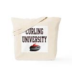 Curling University Tote Bag
