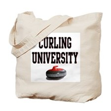 Curling University Tote Bag