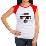 Curling University Women's Cap Sleeve T-Shirt
