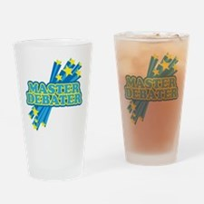 Master Debater Drinking Glass