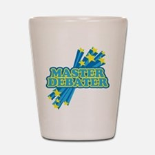 Master Debater Shot Glass