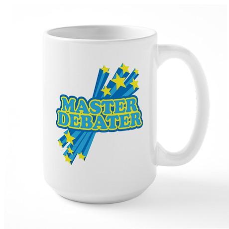 Master Debater Large Mug