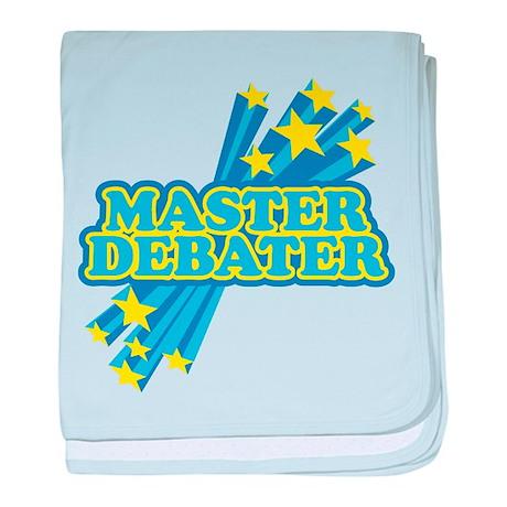 Master Debater baby blanket