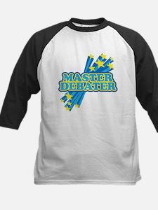 Master Debater Kids Baseball Jersey
