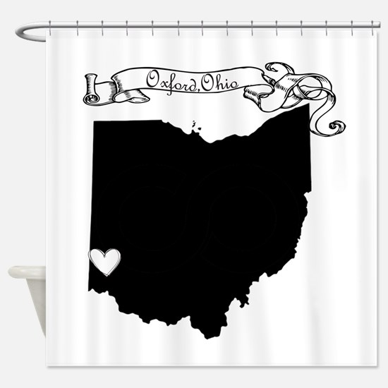 Oxford Ohio Shower Curtain