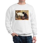 TEATIME FOR KITTENS Sweatshirt
