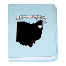 Youngstown Ohio baby blanket