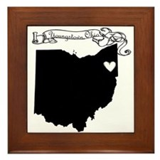 Youngstown Ohio Framed Tile