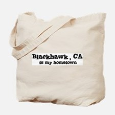 Blackhawk - hometown Tote Bag