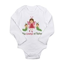 Big Cousin of Twins - Butterfly Long Sleeve Infant