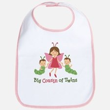 Big Cousin of Twins - Butterfly Bib