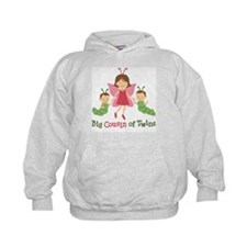 Big Cousin of Twins - Butterfly Hoodie