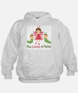 Big Cousin of Twins - Butterfly Hoody