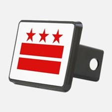 Three Stars and Two Bars Hitch Cover