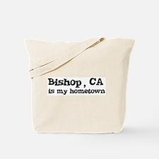 Bishop - hometown Tote Bag