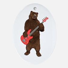 Bears Rock Ornament (Oval)