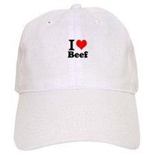 i love beef, beef, meat Baseball Cap