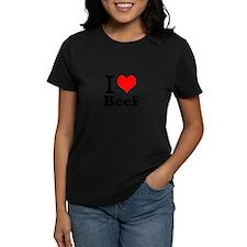i love beef, beef, meat Tee