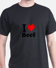 i love beef, beef, meat T-Shirt