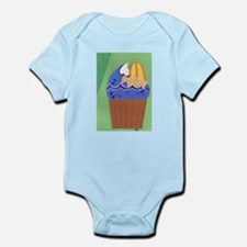 Surfer Cupcake Infant Bodysuit