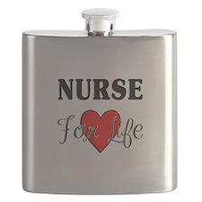 Nurse For Life Flask