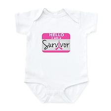 Breast Cancer Survivor 24 Infant Bodysuit