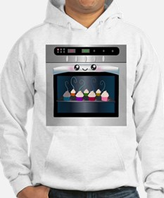 Cute Happy Oven with cupcakes Hoodie