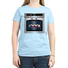 Cute Happy Oven with cupcakes T-Shirt