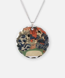 Japanese Cats Necklace
