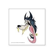 Lucky Wolf Vinyl Sticker (Left)