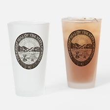 Vintage Ohio Seal Drinking Glass