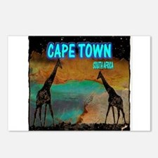 cape town africa Postcards (Package of 8)