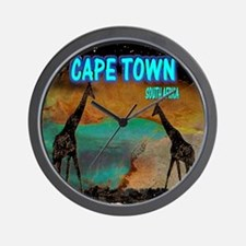 cape town africa Wall Clock