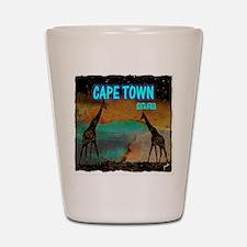 cape town africa Shot Glass