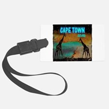cape town africa Luggage Tag