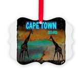 Cape town south africa Picture Frame Ornaments