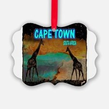 cape town africa Picture Ornament