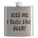 I Taste Like Beer Flask